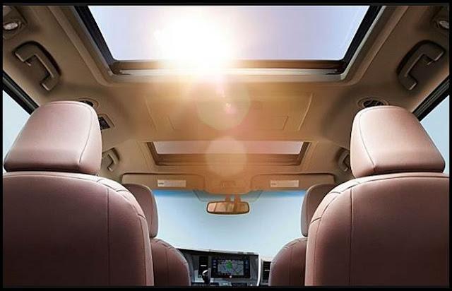 2016 Toyota Sienna Interior Lights LED