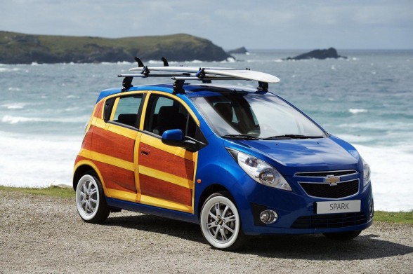 Just For Kicks Here S A Photo Of Pimped Out Woody Smart Car I Found On The Internet