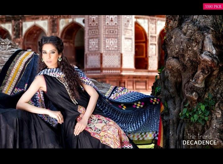 Zeb Aisha Embroidered Lawn