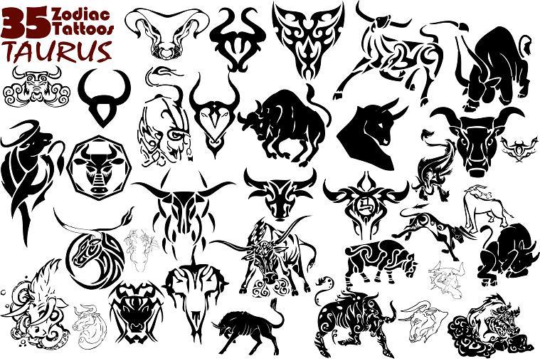 Tattoo designs 01 tattoos photos design gallery for Taurus horoscope tattoos