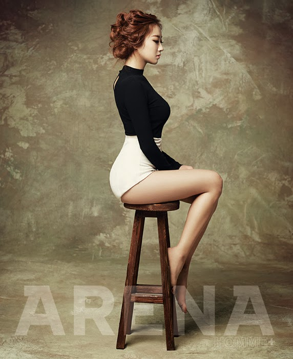 Kyungri Nine Muses Sexy - Arena Homme Plus Magazine February Issue 2014