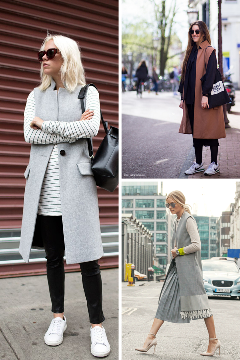 sleeveless coat how to wear