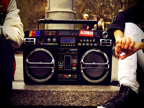 La música es vida.