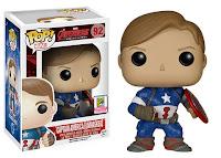 Funko Pop! Captain America Unmasked