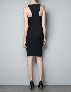 zara siyah elbise modeli | zara siyah abiye modeli