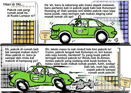 Kelakar Peribahasa 1Malaysia: Lembu Punya Susu, Kondo Dapat Nama? (Funny 1Malaysia Idiom: Cows Own Milk, Condos Get Name?) www.klakka-la.blogspot