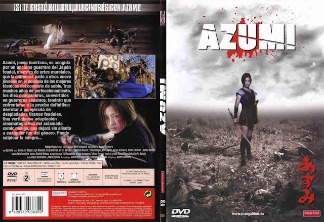 Azumi Dvd