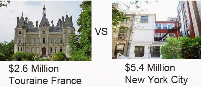 Kiss And Tell Me - 6 castles less expensive than an apartment in nyc