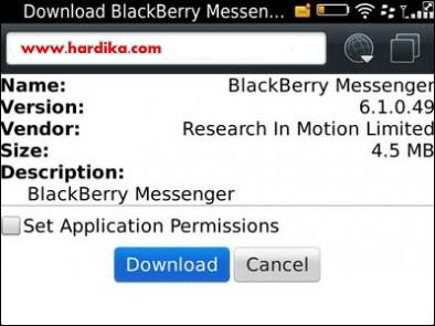 Cara Mudah Upgrade BBM BlackBerry Messenger Ke Versi Terbaru