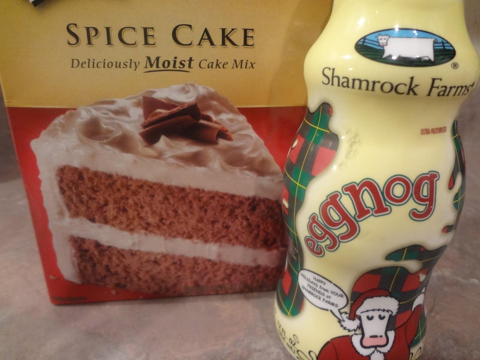 Duncan Hines Eggnog Cake