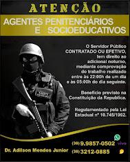 JURÍDICO - AGENTES PENITENCIÁRIOS & SOCIOEDUCATIVOS
