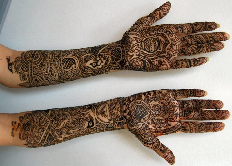 Pakistani Bridal Mehndi Designs for Hands