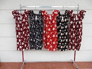 Baju daster batik masa kini