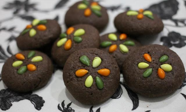 Galletas de chocolate y pipas de chocolate - El dulce mundo de Nerea