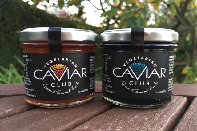 Vegetarian Caviar Club - Gourmet Seaweed Pearls
