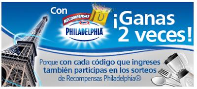 premios un viaje a París o un viaje gastronómico a Mérida concurso Recompensas Philadelphia 2011 Mexico