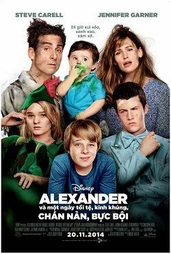 Alexander & Một Ngày Tồi Tệ, Kinh Khủng, Chán Nản, Bực Bội