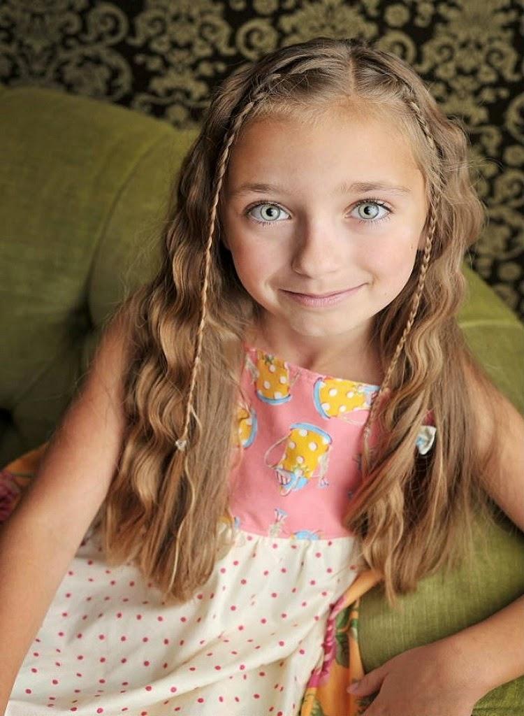 Hairstyles For Long Hair Little Girl : Cute girl hairstyle little hairstyles for long hair g