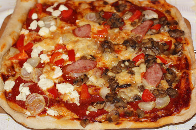 pizza, przepis na pizze, recipe pizza