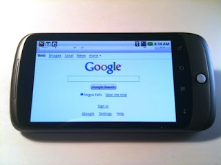 Google Nexus One of the super mobile which HTC ever made