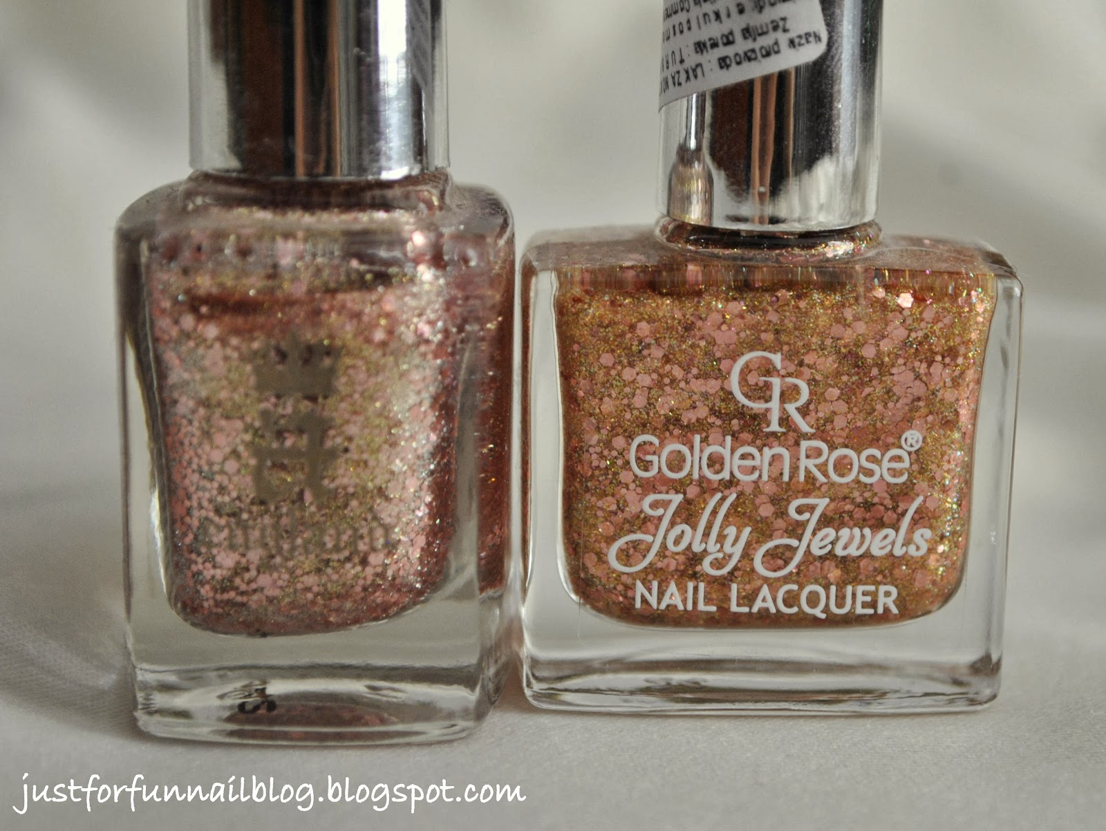 Comparison: A-England She Walks in Beauty VS. Golden Rose Jolly Jewels 103