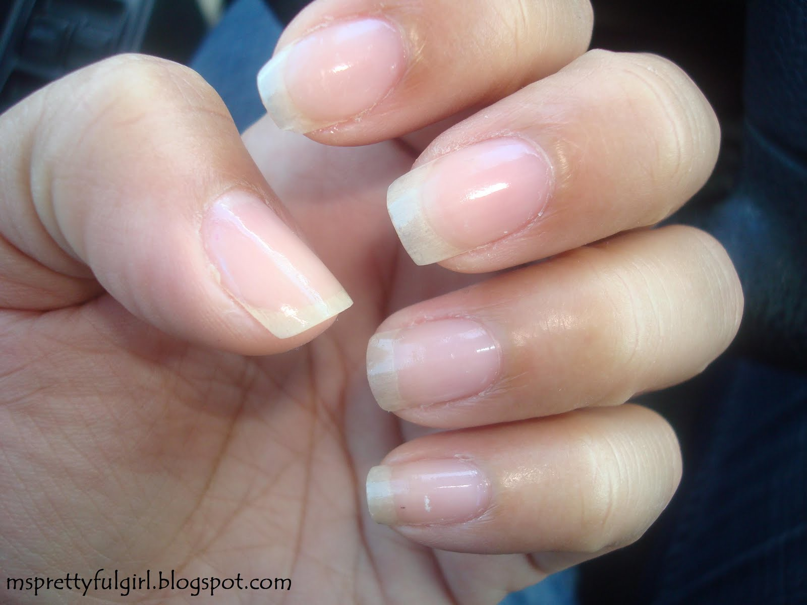 Of Clear Nail Polish On Top
