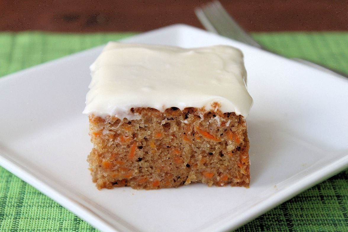 Carrot Cake with Cream Cheese Frosting | Shauna Sever | The Next Door ...