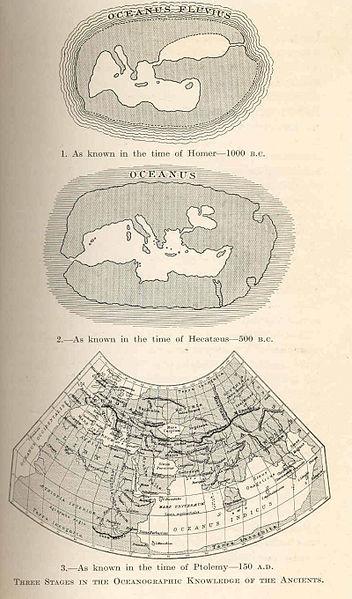 Представление о мире в Древней Греции. edge of the world