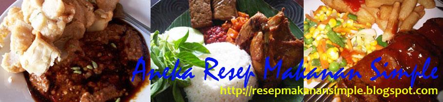 Aneka Resep Makanan Indonesia