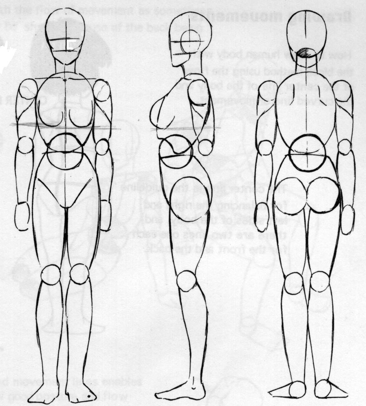 Рисованное тело девушки 8 фотография