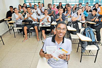 Aluno de São Sebastião-DF conquista 3° lugar em concurso de redação promovido pelo Senado