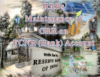 Maintenance of CRR on FCNR (Bank) Account