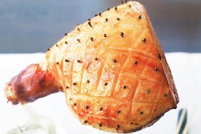 Quick glazed ham Recipe
