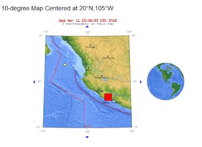 Temblor en México de 7,0 grados Richter DF (11 de Abril 2012 Terremoto Sismo)