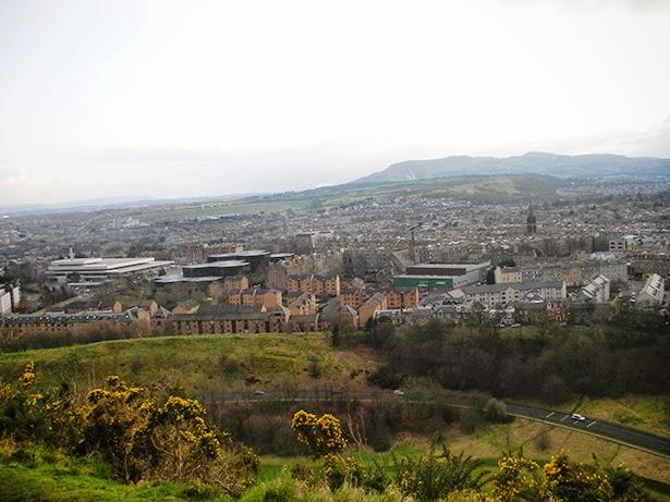 Arthur's Seat in Edinburgh, Scotland