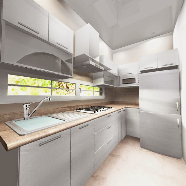 Cocinas modernas en m xico df dise o y decoraci n de for Cocinas de apartamentos modernos
