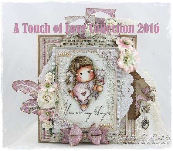 Craft Heaven Shop is featuring my card for the new Magnolia Collection ♥