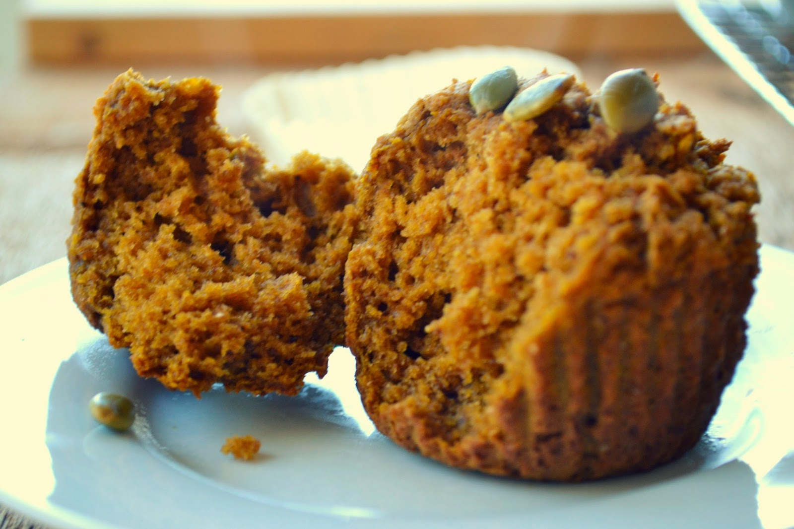 whole wheat pumpkin spice muffins makes 12 muffins 1 can