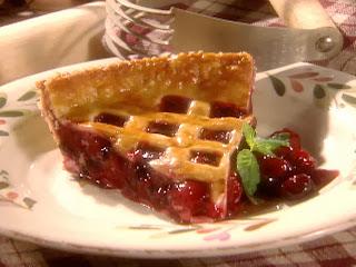 American cherries pie