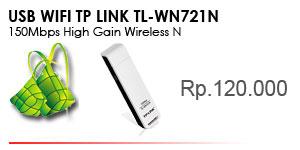 TL-WN721N 150Mbps Wireless N USB Adapter