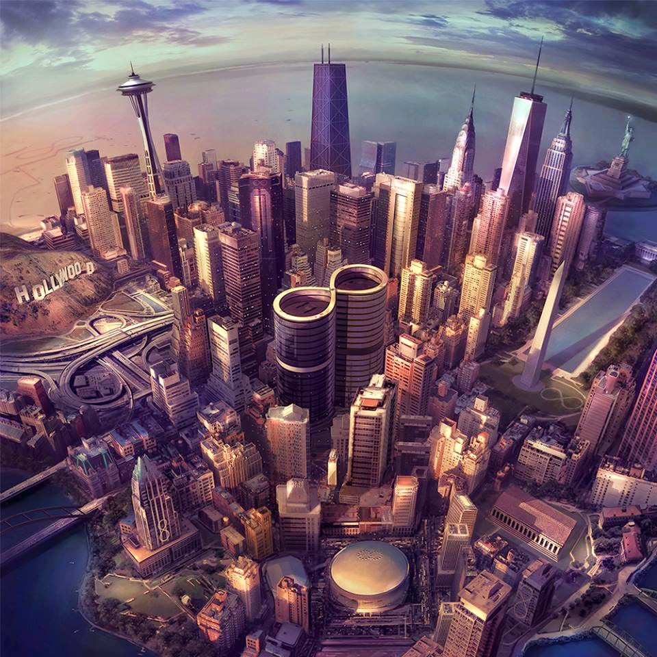 Foo Fighters, Sonic Highways, album cover