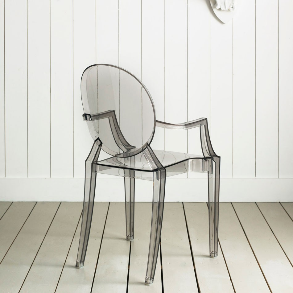 Colorful Transparent Modern Louis Ghost Chairs ...