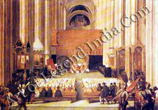 Council of Trent, This famous church council, inaugurated by the Emperor Charles V, was moved to Bologna by Pope Paul III when the inevitable impasse between Pope and Emperor was reached in 1547.