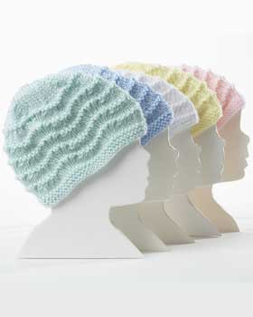 Bernat Knitting Patterns Free : knitnscribble.com: Baby hats, plain and simple patterns
