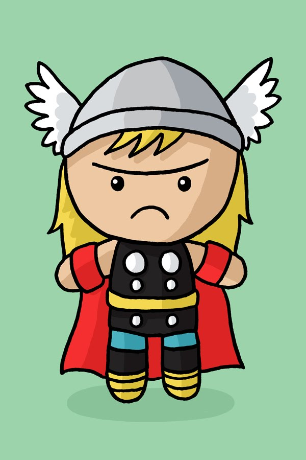 cartoon thor cute   pixshark     images galleries
