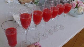 出張シェフ:赤いお酒