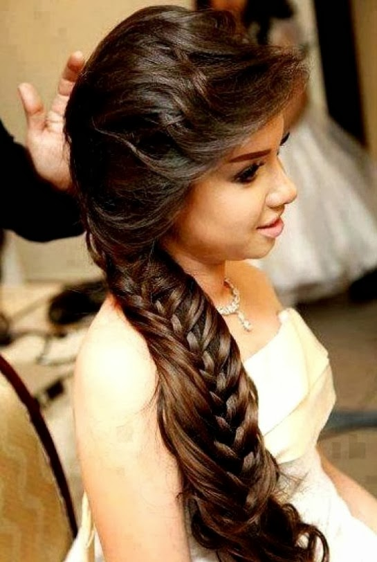 Latest Hair Style : Fashion & Style: Wedding-Bridal Hair Styles-Perfect Hair Styles For ...