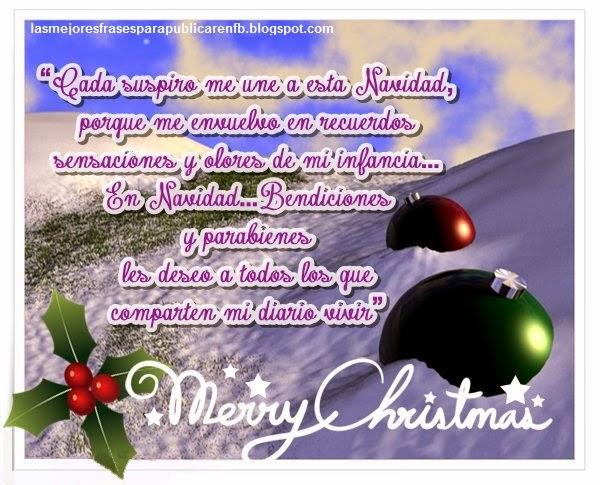 Frases De Navidad: Cada Suspiro Me Une A Esta Navidad