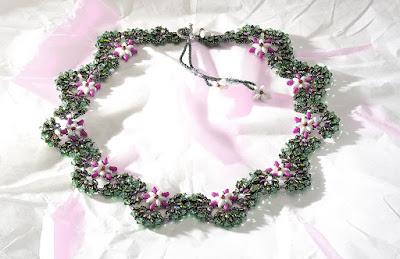 Jasmine Necklace by TrendSetter Akiko Nomura
