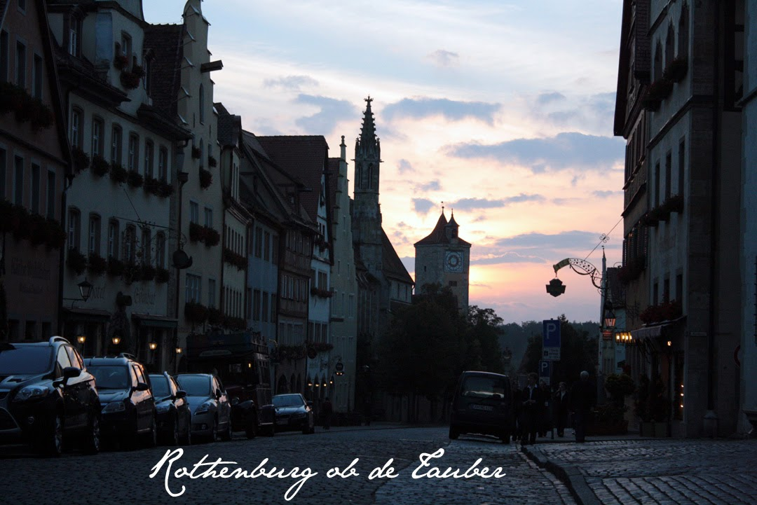 Rothenburg o.b.T at sunset - The Tipsy Terrier blog